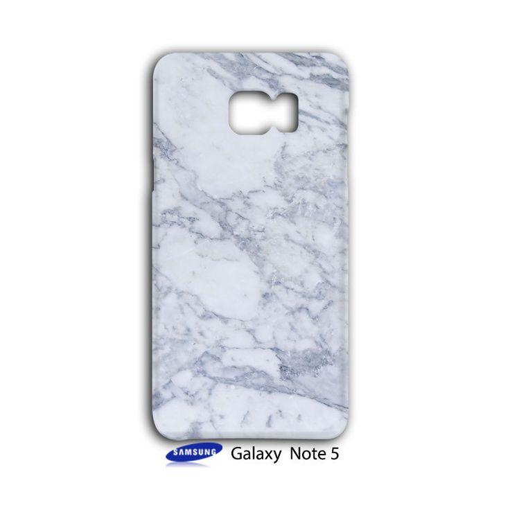 Grey Sky Marble Samsung Galaxy Note 5 Case Wrap Around