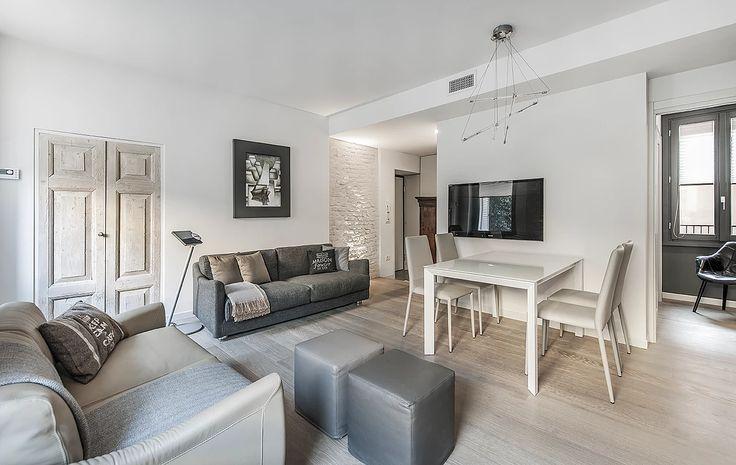 BRANDO concept  | solo 66 mq small space piccolo appartamento salotto open space single house