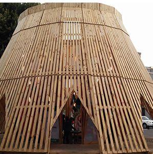 Pabellón de Industrias Creativas - Concepción - Chile.