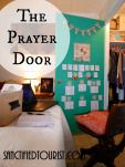 How to make a prayer closet or corner. Free printables for prayer topics and banner. War Room. Sanctified Tourist