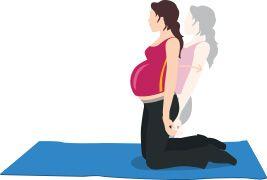 Grossesse et exercice: les abdominaux