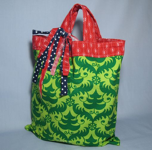 Christmas gift bags to sew 25 reusable fabric gift bags to sew negle Image collections