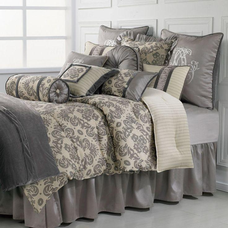 Good Kerrington 4 Piece Luxury Comforter Set: Luxury Bedding By HiEnd Accents