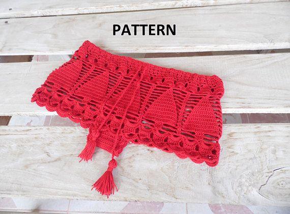 Crochet Panties Pattern Crochet Shorts Pattern Beach Shorts
