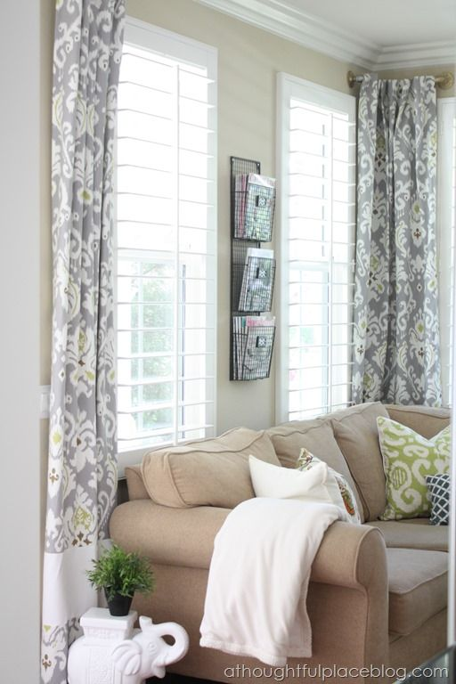 Best 25+ Short window curtains ideas only on Pinterest   Small ...