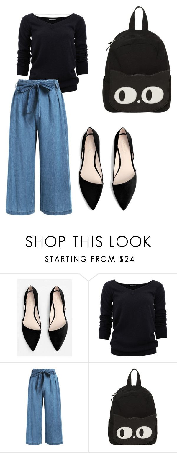 """""""Comfy"""" by catherinemairi on Polyvore featuring MANGO and Brunello Cucinelli"""