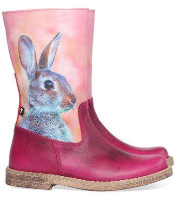 Wild kinderschoenen 8966 fuchsia bunny koop je online bij MooieSchoenen.nl