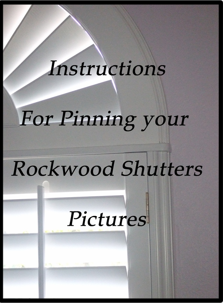 29 Best Images About I My Shutters Amp Blinds On Pinterest