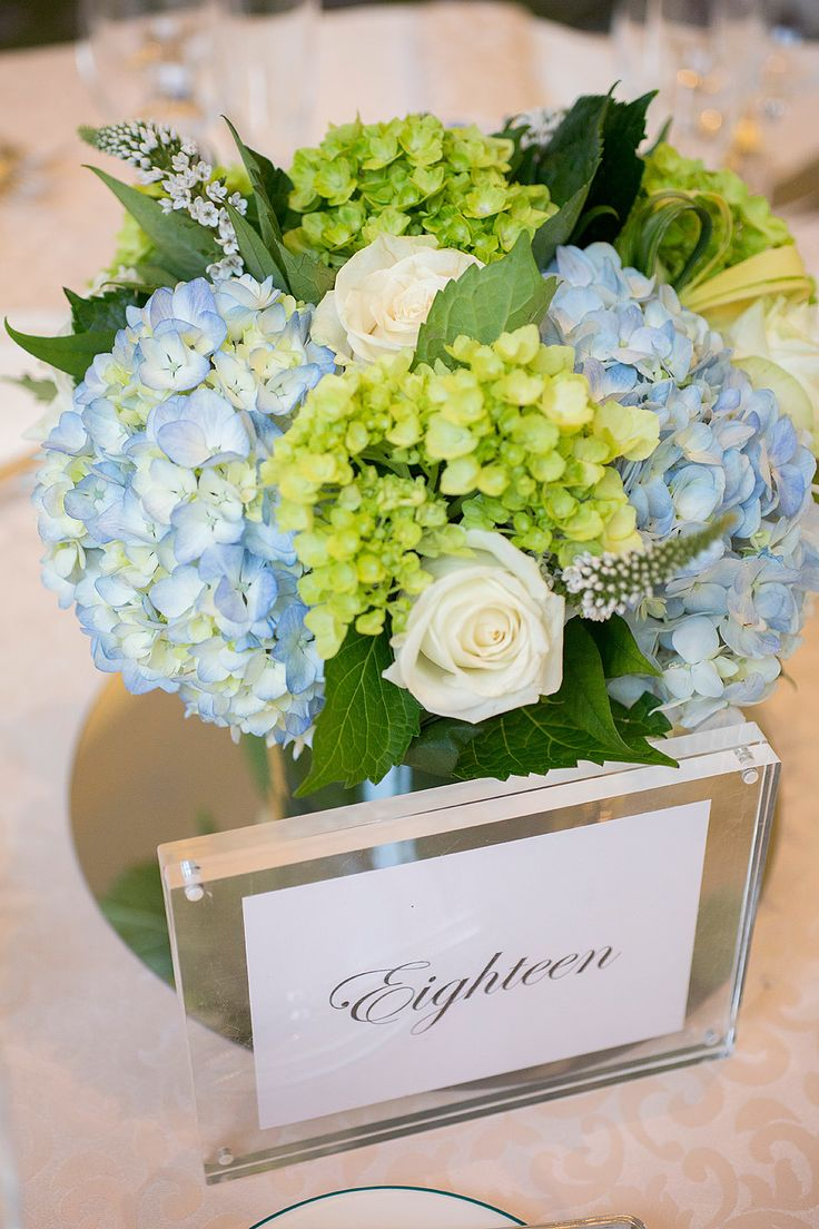Classic Blue & Green Wedding at Boston Harbor Hotel  Read more - http://www.stylemepretty.com/massachusetts-weddings/boston/2014/01/28/classic-blue-green-wedding-at-boston-harbor-hotel/