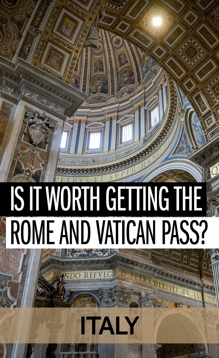 The Rome and Vatican Pass offers free tickets and fast-track entries. Do you actually save money with the Vatican and Rome Pass, though? it is a cheap way to see Rome and a good way to skip the line at the Vatican and St Peters? I crunch the numbers to see if you can get value from the card!