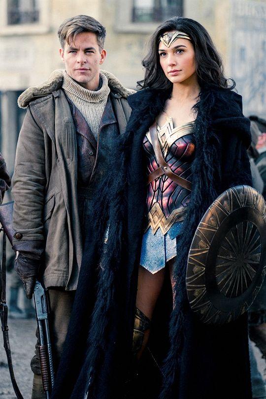 I just watched Wonder Woman (2017) and it was epic! Gal Gadot was made for the role of Wonder Woman! And Chris Pine's mesmerising blue eyes were a great addition to the movie lol
