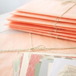 Peaches and Greens Card Serendipity Kit — perfect to personalize greetings this holiday season!