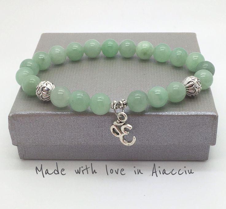 bracelet bouddhiste en jade Signe Ohm : Bijoux pour hommes par made-with-love-in-aiacciu