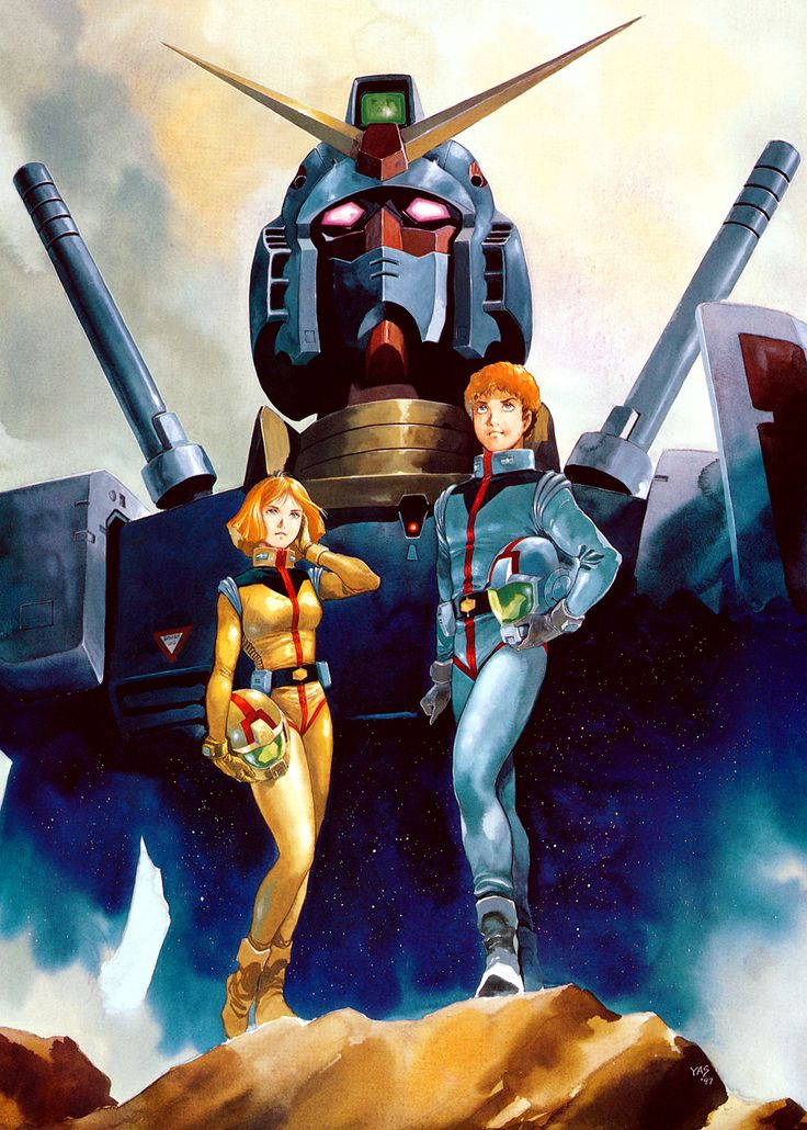 Amazing early style gundam posters - get ready for Gundam origin!