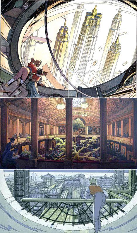 Francois Schuiten is a Belgian comics artist