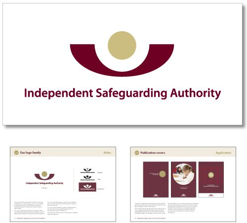 ISA brand creation and guidelines. Turning a vetting and baring into safe guarding.