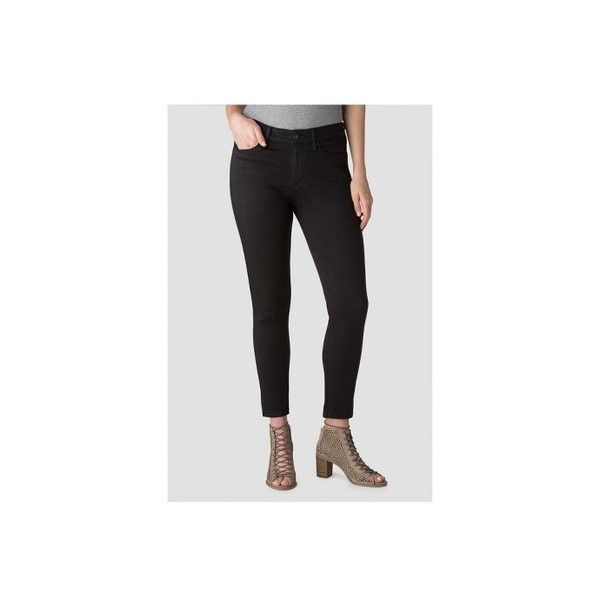 DENIZEN® from Levi's® Women's High Rise Ankle Skinny Jeans - Black :... ($28) ❤ liked on Polyvore featuring jeans, high rise jeans, skinny ankle jeans, levi skinny jeans, high waisted skinny jeans and highwaist jeans