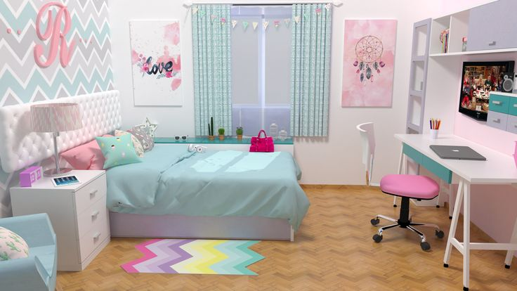 creando habitacion teen