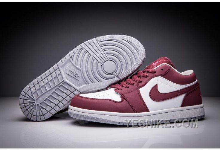 http://www.yesnike.com/big-discount-66-off-air-jordan-1-low-wine-red-white-men-and-women-size-shoes.html BIG DISCOUNT! 66% OFF! AIR JORDAN 1 LOW WINE RED WHITE MEN AND WOMEN SIZE SHOES Only $93.00 , Free Shipping!