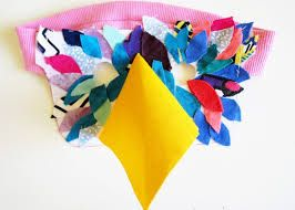 Image result for bird mask cut work template