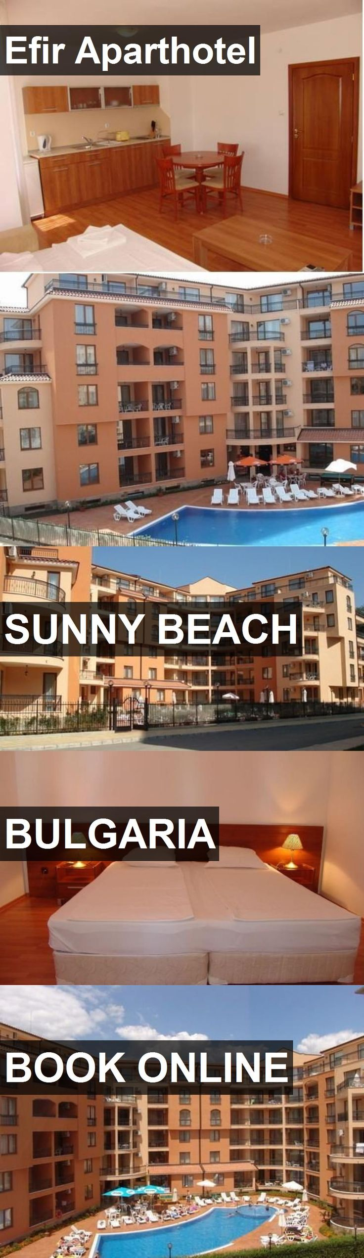 Hotel Efir Aparthotel in Sunny Beach, Bulgaria. For more information, photos, reviews and best prices please follow the link. #Bulgaria #SunnyBeach #EfirAparthotel #hotel #travel #vacation