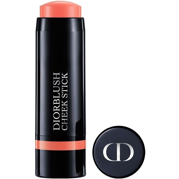 Dior Dior Blush Cheek Stick Velvet Color Crème Blush found on Polyvore featuring beauty products, makeup, cheek makeup, blush, cosmopolite coral and christian dior