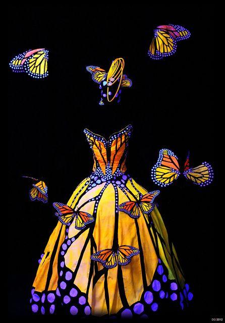 Butterfly dress, World Of Wearable Arts.