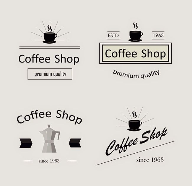 Retro Coffee Logotypes
