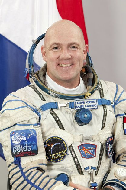 ESA astronaut André Kuipers © 2011 - Gagarin Cosmonaut Training Center