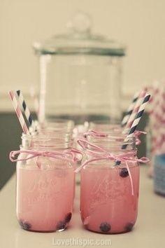 Baby shower drinks sprite lemonade blue berries @Hollie Baker A L E Y |  V A N  |  L I E W Sewell