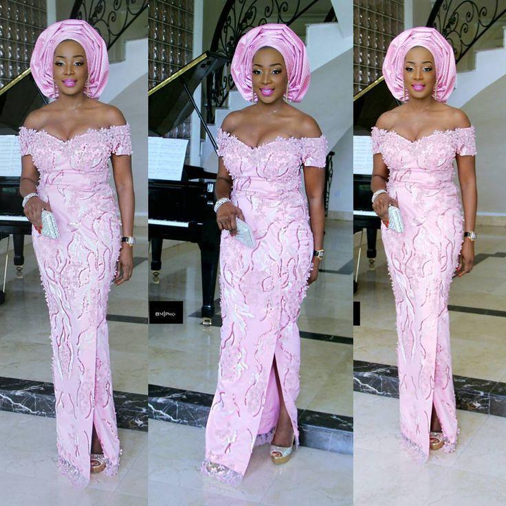 Fashion Forward, Trendy, and Eye-Popping 100+ Aso-Ebi Styles - Wedding Digest Naija