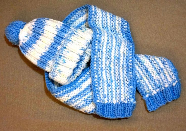 scarf and beanie for newborn baby