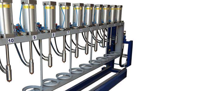 Re-Validation Hydrostatic Pressure Test. LPG Cylinder re-validation line includes hydrostatic pressure test of cylinders | ROK Teknik Metal Makine ve Kalip San. Tic. Ltd. Sti. | www.rokteknik.com/lpg-cylinder-revalidation-line/re-validation-hydrostatic-pressure-test/