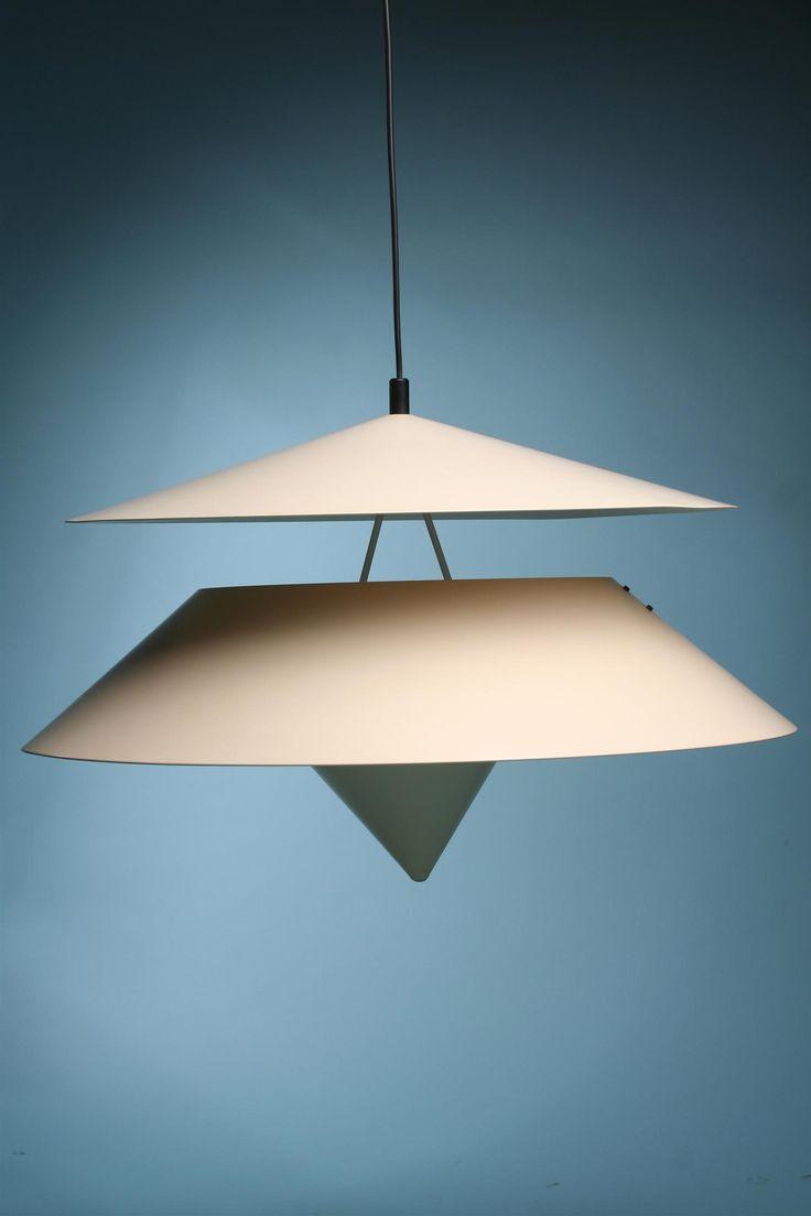 Vico Magistretti, Pendant lamp for O'Luce, 1970s.