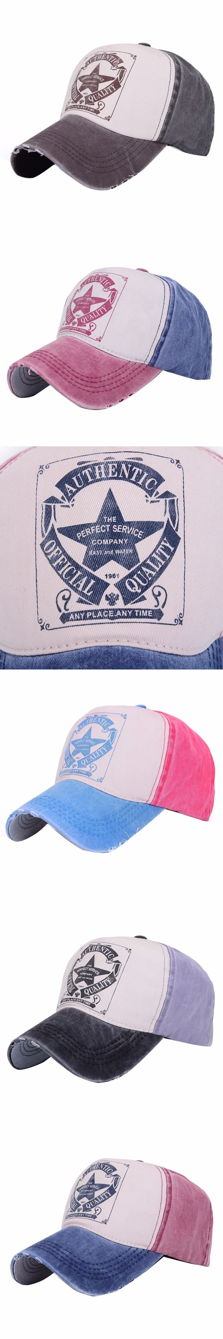 Stylish Classic Men Women Letter Print Hat Outdoor Polo Hats Baseball Ball Cap