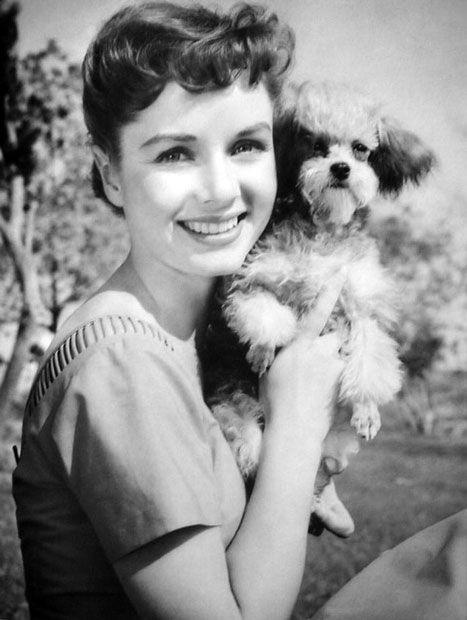 """Debbie Reynolds Proud Dog Owner"" ~ as seen at http://www.acertaincinema.com/browse/person/debbie-reynolds/?p1=$=1=1=1"