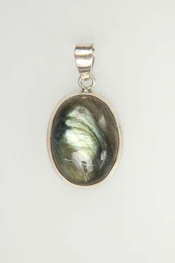 Pendants P00015 Silver 925° stone Labradorite
