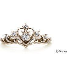 Disney Diamond Jewelry | Semi-Order Disney Jewelry K.UNO Princess Tiara Ring w/ diamond Natural ...