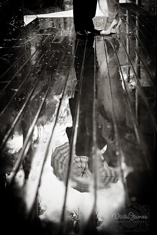 Love this image on a very wet day for a wedding