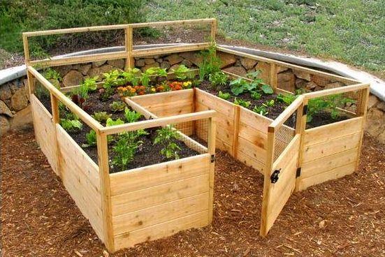 Dishfunctional Designs: Great Ideas For Beautiful DIY Raised Garden Beds