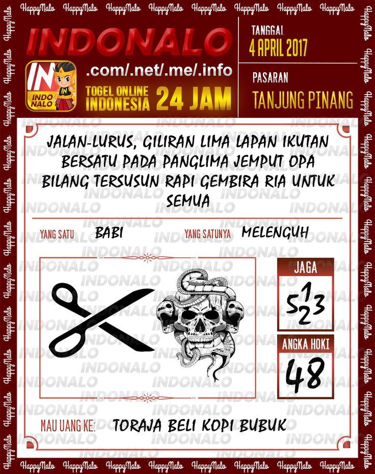 Syair 3D Togel Wap Online Indonalo Tanjung Pinang 4 April 2017