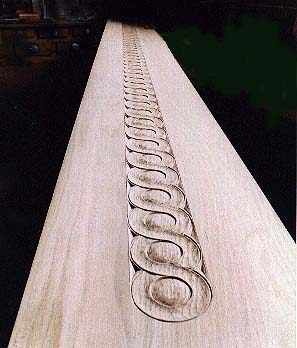 talla madera ornamento