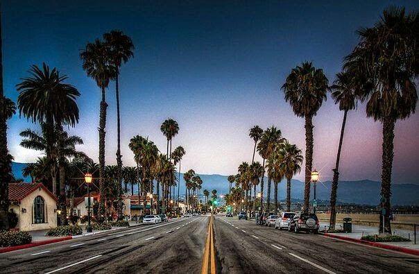 Санта-Барбара, Калифорния.