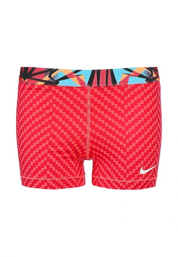 Шорты Nike / Найк Цвет: красный. Сезон: Весна-лето 2014. С бесплатной доставкой и примеркой на Lamoda. http://j.mp/1Ak9Eje