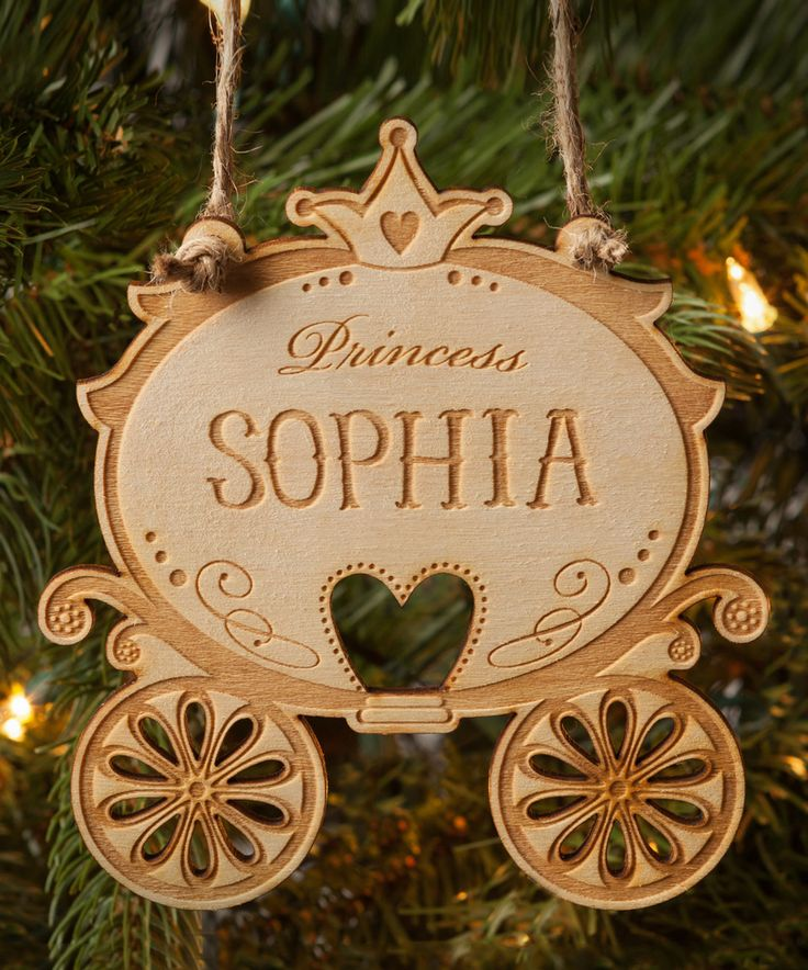 Love this Princess Carriage Personalized Ornament by Personalized Planet on #zulily! #zulilyfinds