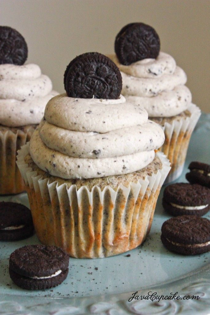 Oreo cookie cupcake frosting recipe