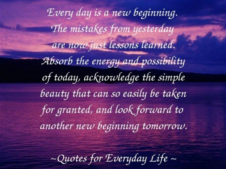 New Beginning Quotes And Sayings: Thoughtful Sayings