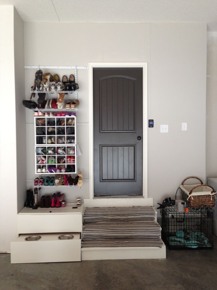172 best images about inspiring organised spaces entry for Garage mudroom