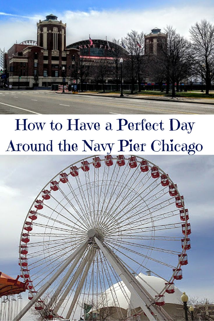 Get my travel tips for the best things to do around the Navy Pier in Chicago, Illinois!