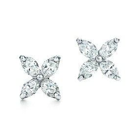Tiffany & Co Victoria Earrings